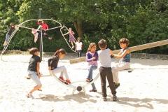 Spielgeräte im Hortgarten