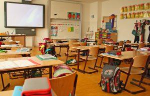 Klassenzimmer einer 1. Klasse