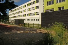 Rückseite mit ergänztem Gebäudeteil